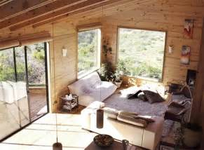 Wood Home Interiors by Creative Contemporary All Wood Hillside Home Design