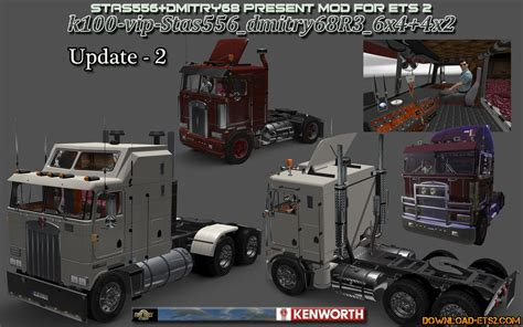 kenworth k100 kenworth k100 truck update v 2 187 download ets 2 mods
