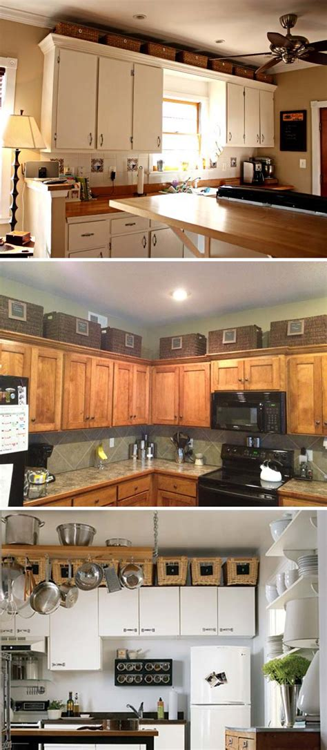 above kitchen cabinet decorations 20 stylish and budget friendly ways to decorate above
