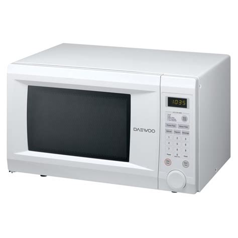 daewoo 1 1 cu ft white counter top microwave