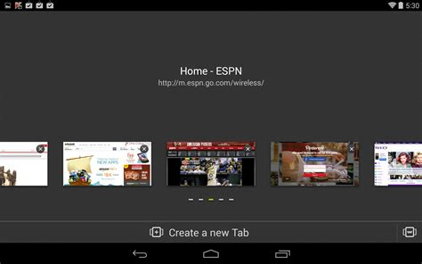 fastest mobile browser android next browser soft for android free next