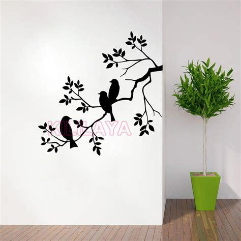 nature birds  branch vinyl wall sticker wall decal