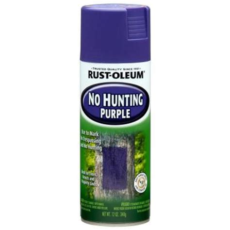 rust oleum specialty 12 oz no purple spray paint of 6 270970 the home depot