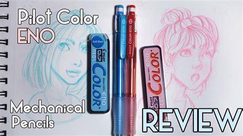eno colors pilot color eno pencils review sketching