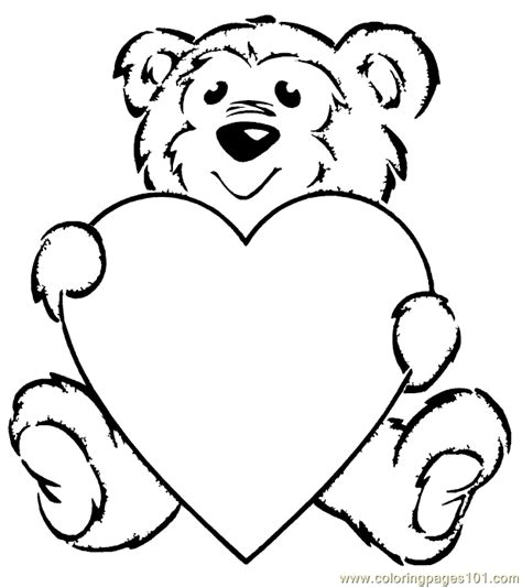coloring pages teddy bear coloring page 001 3 cartoons