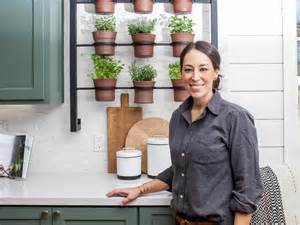 Wall Hanging Indoor Herb Garden - container gardening ideas from joanna gaines hgtv s decorating amp design blog hgtv