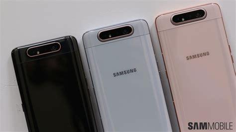 Samsung Galaxy A80 2019 by Samsung Galaxy A80 On Sliding Into A No Notch No Future Sammobile