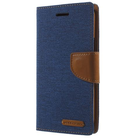 Dompet Wallet Canvas Diary 360 Protection For Samsung Grand 1 samsung galaxy j5 2015 mercury goospery canvas diary wallet blue