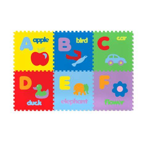 Karpet Huruf jual evamat tikar huruf abc bergambar abjad gambar puzzle