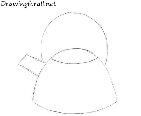 How To Draw A Drawingforall by How To Draw A Kettle Drawingforall Net