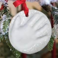 baby handprint ornament ornaments to make on dough ornaments salt