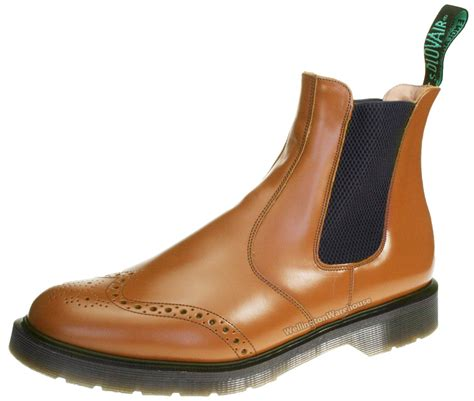 mens solovair leather pecan brogue made