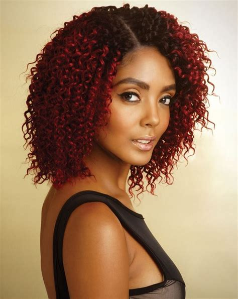 bohemian hair weave in the pack mane concept human hair melanin queen bohemian curl weave