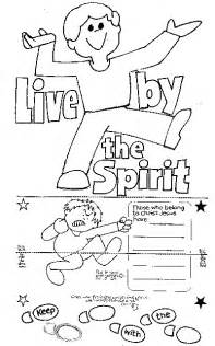 free gifts of the holy spirit coloring pages
