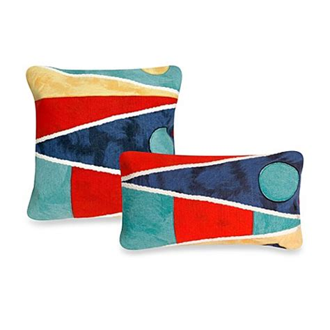 bed bath and beyond outdoor pillows liora manne outdoor throw pillow collection in flag bed