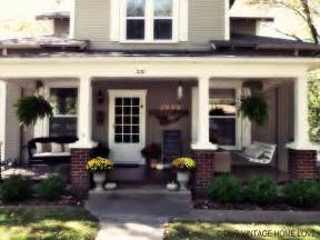 house porches our vintage home love fall porch ideas
