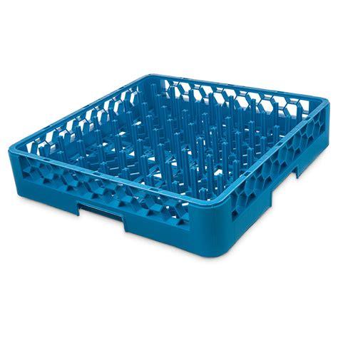 Racks Blue Plate by Carlisle Rp14 Size All Purpose Plate Tray Peg Rack Blue