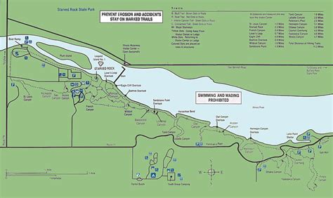 starved rock map footnotes to chicago history cook county illinois