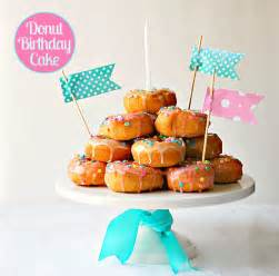 how to make a donut birthday cake best friends for frosting