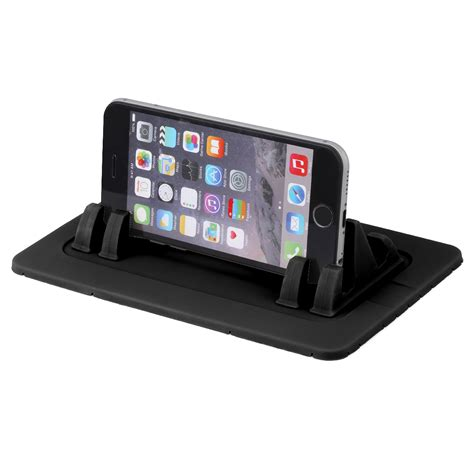 Car Dashboard Rubber Smart Stand Holder For Mobile Phon Promo smart phone holder car mount stand dash mat cradle dock