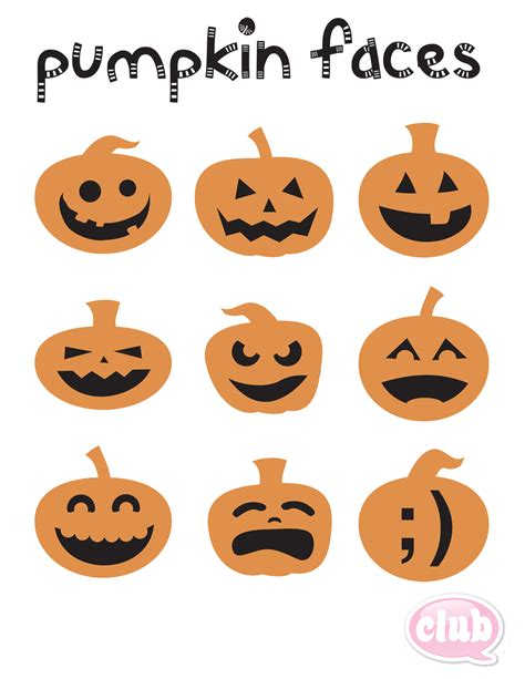 pumpkin faces for one pumpkin faces