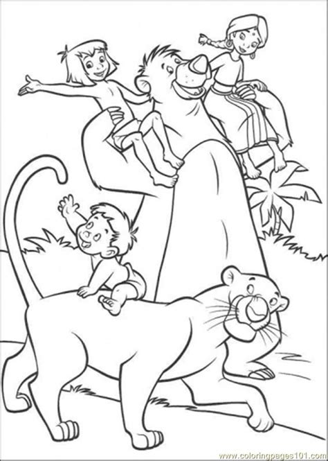jungle coloring pages free az coloring pages