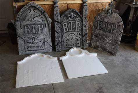 halloween decorations home made homemade halloween decorations home made grave stones