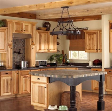 denver hickory cabinets farm or barn house inspiration