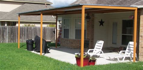 Patio Covers New Braunfels Custom Steel Patio Cover Awning New Braunfels