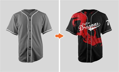 Sports Jersey Mockup Template Pack Baseball Jersey Template Psd