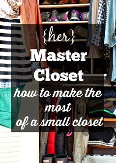 small master closet on small closet design