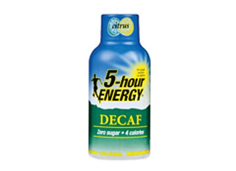 carbohydrates in 5 hour energy caffeine levels in energy drinks consumer reports