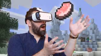 Minecraft arrives on gear vr today