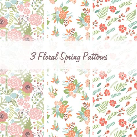 nature patterns for photoshop free download floral spring patterns photoshop patterns