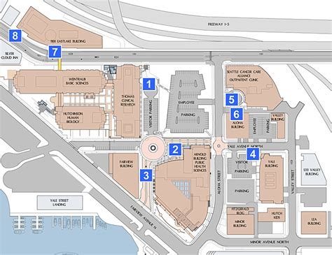 Parking Garage Design Standards equal access to fred hutchinson cancer research cancer campus
