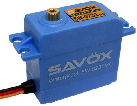 Savox Sw0231mg Waterproof High Torque Std Metal Gear Digital Servo savox waterproof standard digital servo savox sw0231mg