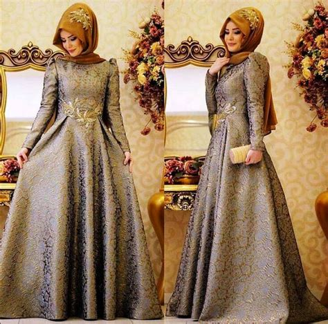 Model Busana Gaun model gaun pesta muslim modern info kebaya modern