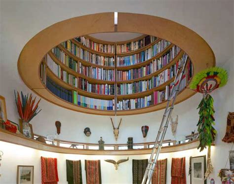 circular library bookcase idesignarch interior design