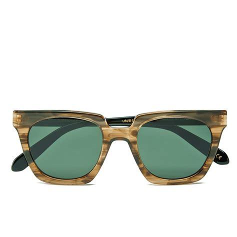 Handcrafted Sunglasses - han kjobenhavn union handmade sunglasses horn black