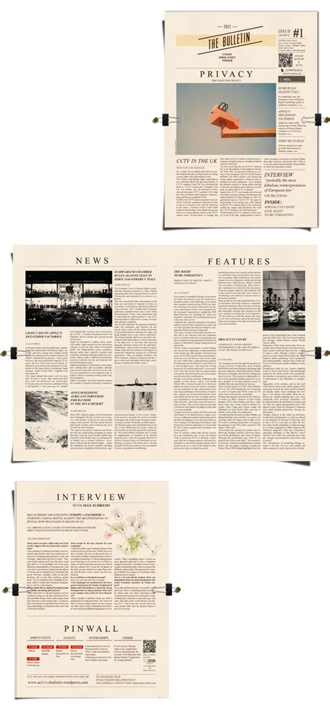 desain layout bulletin 1000 images about newspaper on pinterest newspaper