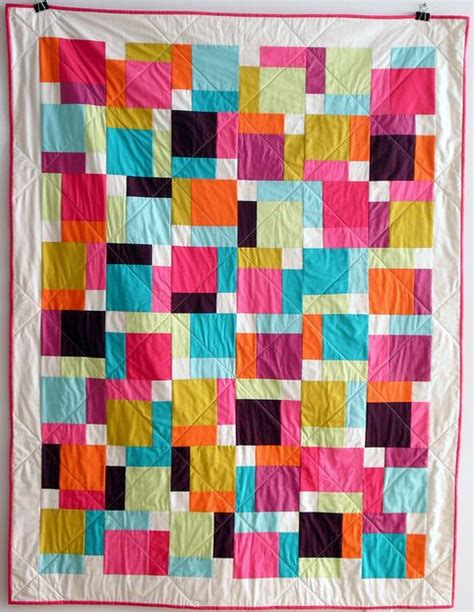 magic quilt pattern magic quilt by spoolsewing via flickr modern quilt