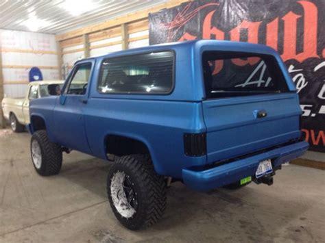 Blazer X4 1986 Chevy Blazer K5 4x4 Ls 6 0 Motor 6 Speed Auto Trans