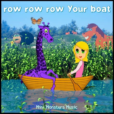row your boat hip hop mini monsters music row row row your boat cd baby