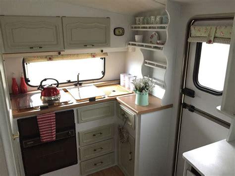 caravan interiors 25 best ideas about shabby chic caravan on