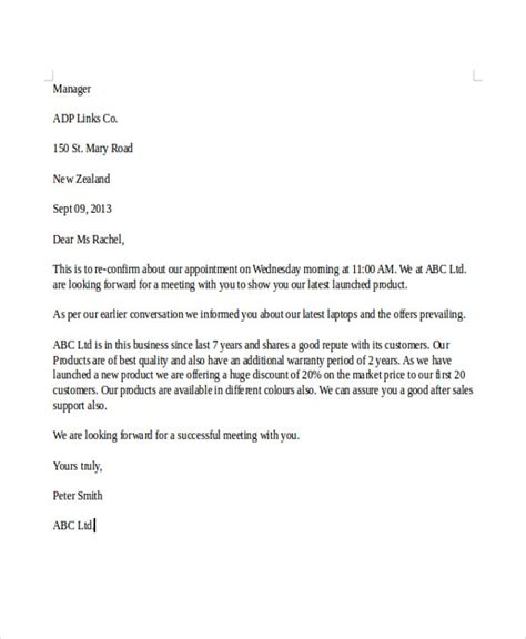 appointment letter sle sle of an appointment letter pdf 28 images sle