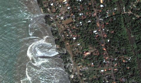 imagenes satelitales birdseye tsunami