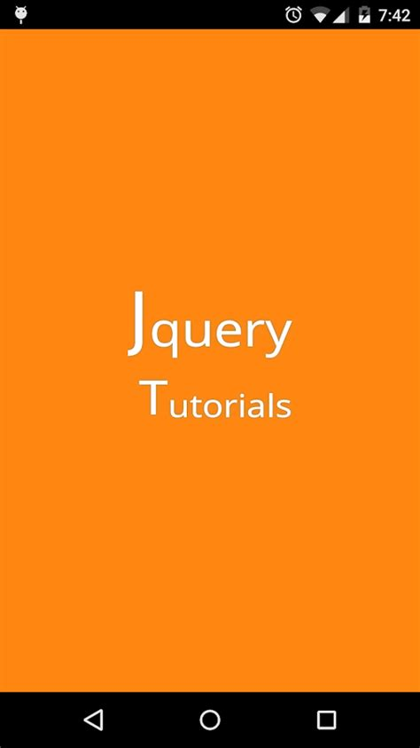 jquery tutorial com jquery tutorials android apps on google play