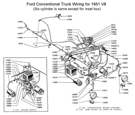 flathead electrical wirediagram1951truck jpg 700 215 598