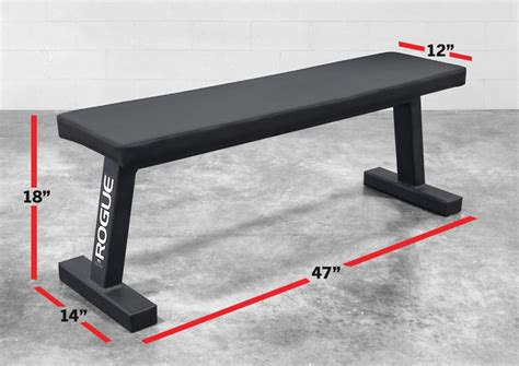 gym bench size rogue flat utility bench 2 0 rogue fitness gym ideas