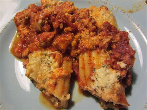 Manicotti Recipe With Cottage Cheese by Beatrice Euphemie Three Cheese Manicotti